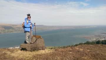 Me hiking, as I do every weekend