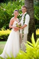 Kali and Ryan's wedding in Kauai in 2010