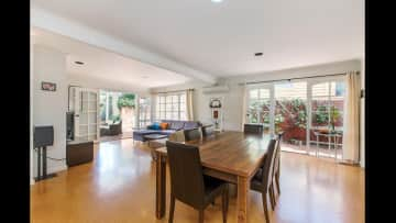 Floors have since been replaced with wooden floating floors througout.
