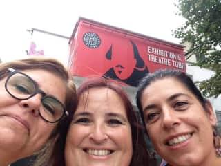 Me, Maria and Paula.