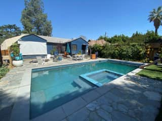 Pool and back of house