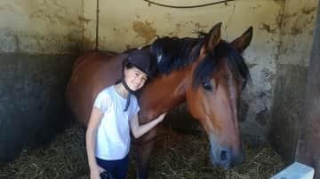 Greta with Beltscha