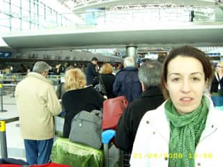 Check in at the airport of Ezeiza
