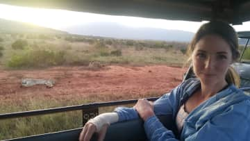I am an avid nature and wildlife lover. Bucket list #1: see wild lions in the African savanna = check.