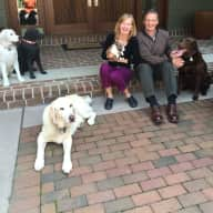 Profile image for pet sitters Gayle & Robert