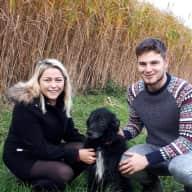 Profile image for pet sitters Samuel & Katie