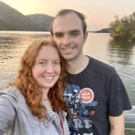 Profile image for pet sitters Elina & Aaron
