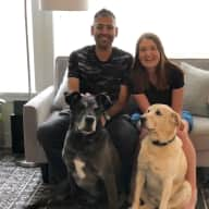 Profile image for pet sitters Shannon & Sergio