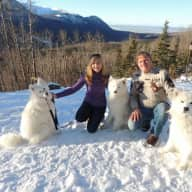 Profile image for pet sitters Maryse & Jeff