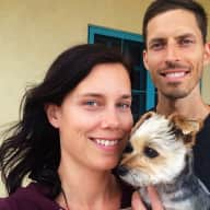 Profile image for pet sitters Eve & Dominic