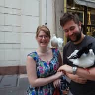 Profile image for pet sitters Kathryn & James
