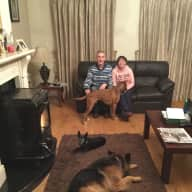 Profile image for pet sitters catherine & Michael