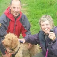 Profile image for pet sitters Jane & Mark