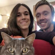 Profile image for pet sitters Camille & Gerrard