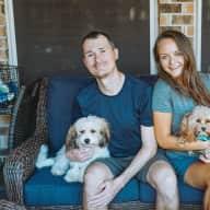 Profile image for pet sitters Mariia & Justin