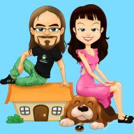 Profile image for pet sitters Craig & Parker