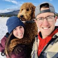 Profile image for pet sitters Halle & Scott