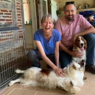 Profile image for pet sitters Olivier & Valérie