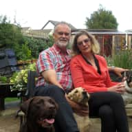 Profile image for pet sitters Catherine & Frank