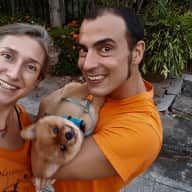 Profile image for pet sitters Sergio & Ana