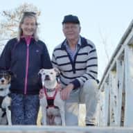 Profile image for pet sitters Greg & Bev