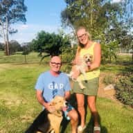 Profile image for pet sitters Ellese & Gary