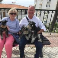 Profile image for pet sitters Christine & Albert