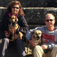 Profile image for pet sitters Robert & Patti