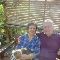 Profile image for pet sitters Penny & David