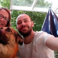Profile image for pet sitters Nadine & David
