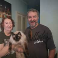 Profile image for pet sitters Adele & Christopher