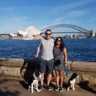 Profile image for pet sitters Michelle & James