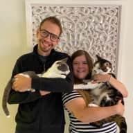 Profile image for pet sitters Stefanie & Matthias