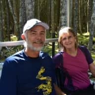 Profile image for pet sitters Bev & George