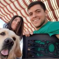 Profile image for pet sitters Sonia & Ruben