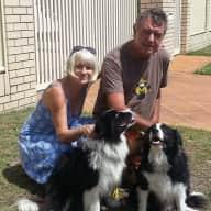 Profile image for pet sitters Carol & John