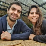 Profile image for pet sitters Isidora & Gonzalo