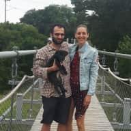 Profile image for pet sitters Stefanie-Lou & Inam