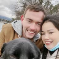 Profile image for pet sitters Oliver & Aiqing