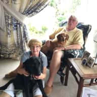 Profile image for pet sitters Bernadette & Graham