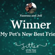 Profile image for pet sitters Vanessa & Jeffrey