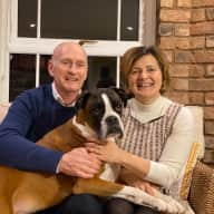 Profile image for pet sitters Malcolm & Maria