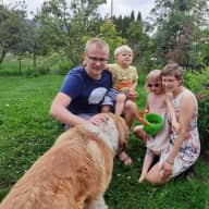 Profile image for pet sitters Vera & Patrik