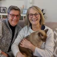 Profile image for pet sitter Julie and Karen