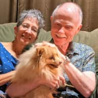 Profile image for pet sitters Frank & Diane