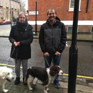 Profile image for pet sitters Jean & Andrew