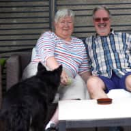 Profile image for pet sitters Christine & Andrew