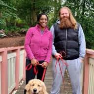 Profile image for pet sitters Cassie & Edmund
