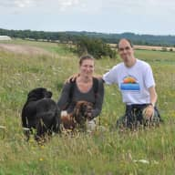 Profile image for pet sitters Eva & Zoltan