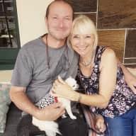 Profile image for pet sitters Rachel & John